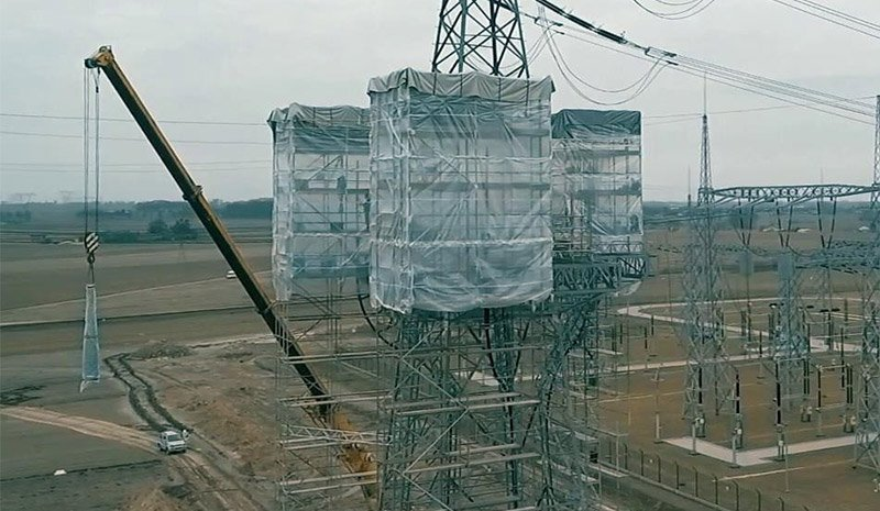 Design, delivery and turnkey construction of an overhead and cable 400 kV power line in Płock, connecting the Power Station with PSE Płock 400/110 kV substation.